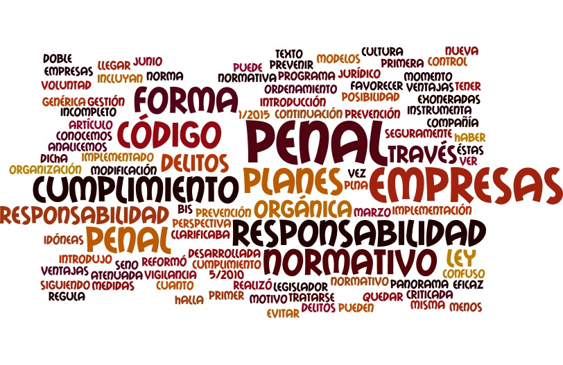 Responsabilidad penal de las empresas:planes de cumplimiento normativo